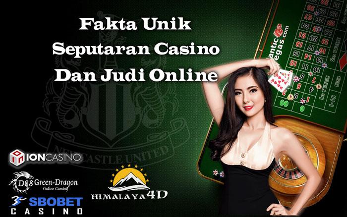 Fakta unik casino