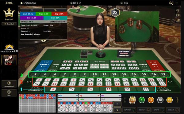 dadu casino online