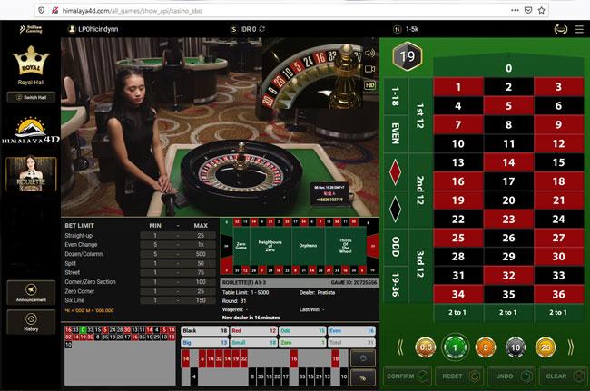 cara bermain roulette
