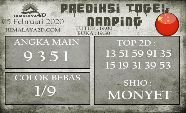 Prediksi Nanping 5 Februari