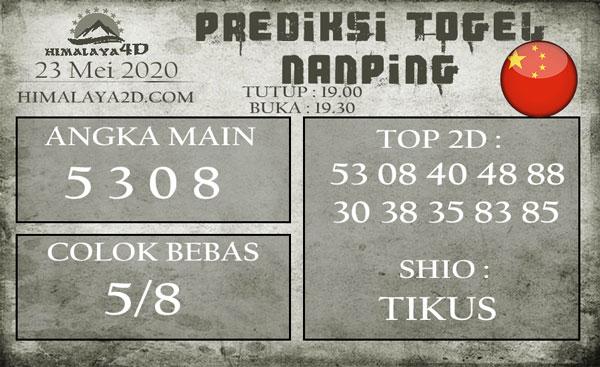 Prediksi Nanping 23 Mei 2020