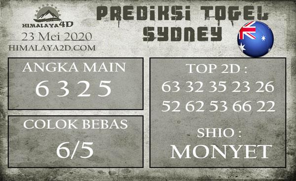 Prediksi Sydney 23 Mei 2020