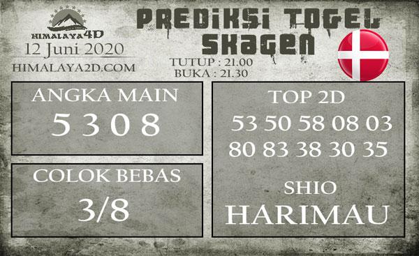 Prediksi Skagen 12 Juni 2020