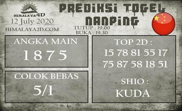 Prediksi Nanping 12 July 2020