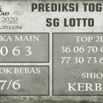 Prediksi SG LOTTO 03 july 2020, Dijamin Akurat