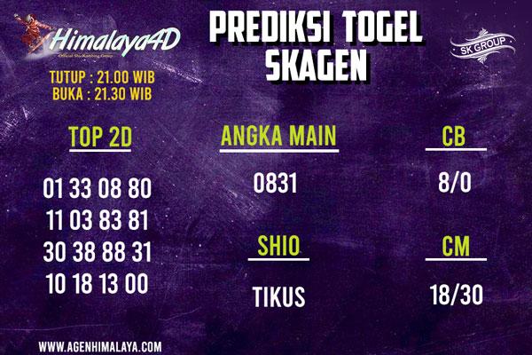 Prediksi Skagen 15 July 2020